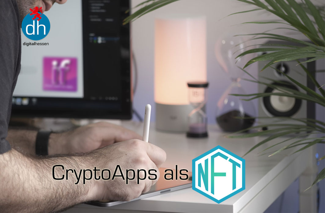NFT-Kollektion CryptoApps bei digitalhessen Oktober 2021